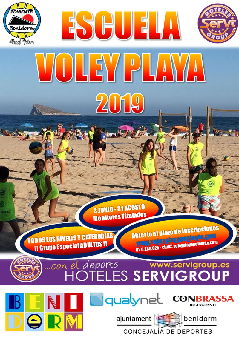 escuela voley playa benidorm 2019