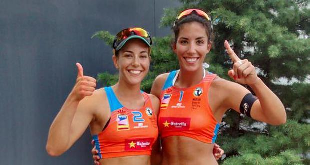 Paula Soria y Ángela Lobato