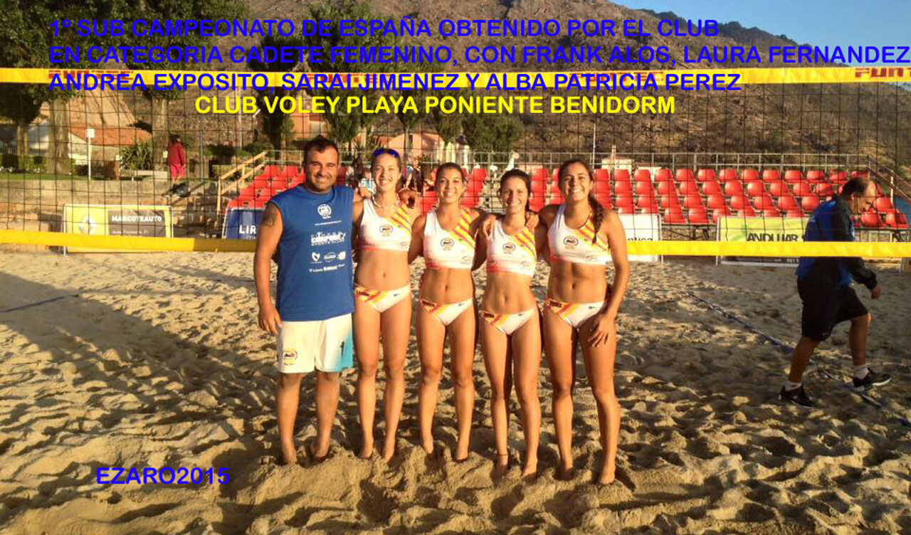 campeonatos voley playa 2015