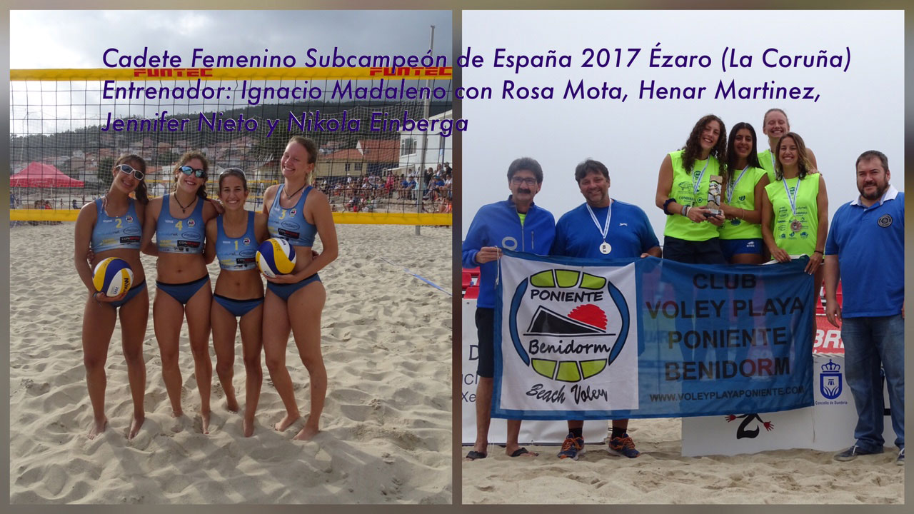 campeonatos voley playa benidorm 2017