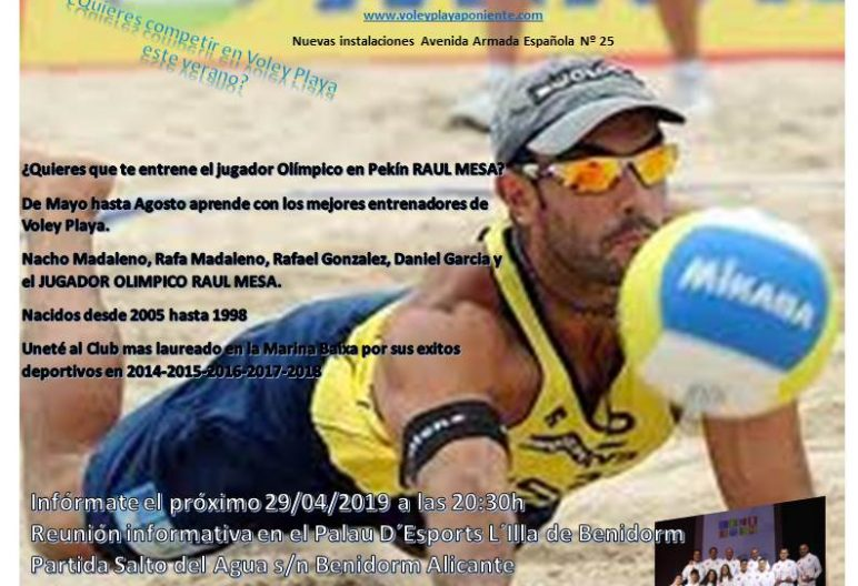 competicion club voley playa poniente benidorm