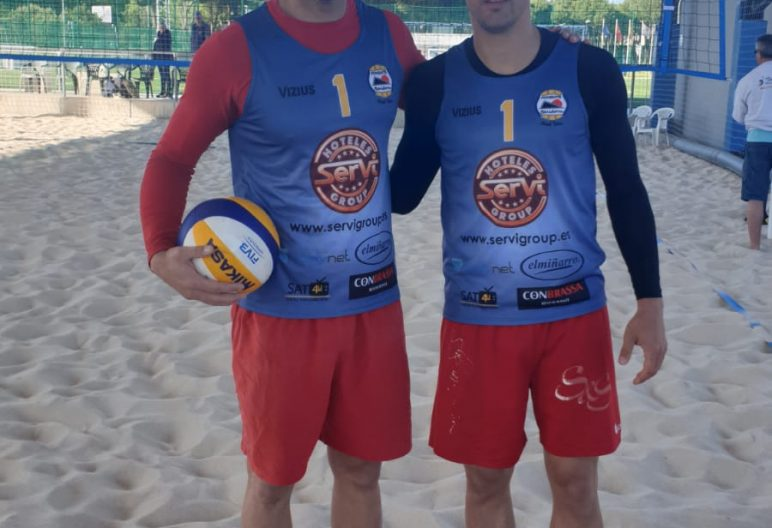 RAUL MESA VICENTE MONFORT CLUB VOLEY PLAYA PONIENTE BENIDORM