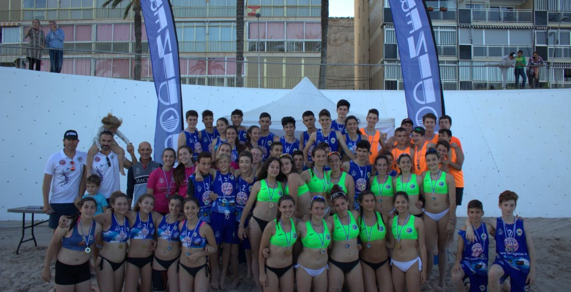 MEDALLAS TORNEO VOLEY PLAYA BENIDORM TODAS CATEGORIAS