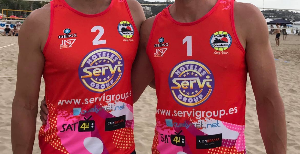 RAUL MESA ESTEFANO NASSINI VOLEY PLAYA