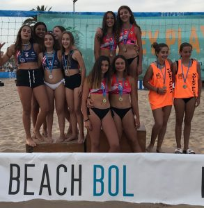 CLUB VOLEY PLAYA PONIENTE BENIDORM INFANTIL FEMENINO