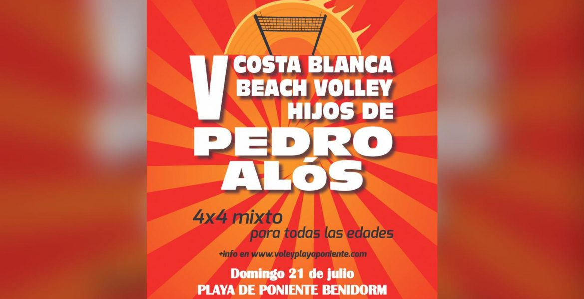 V COSTA BLANCA BEACH VOLLEY HIJOS PEDRO ALOS