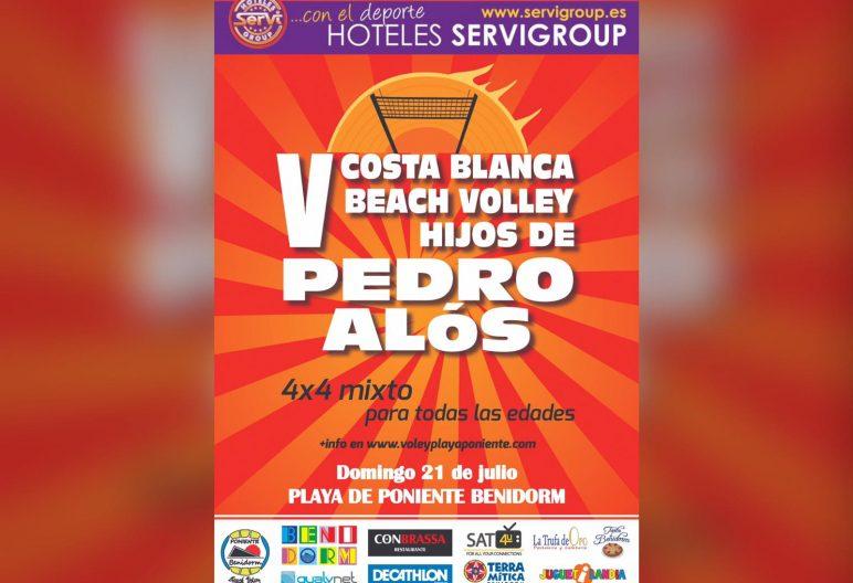V COSTA BLANCA BEACH VOLLEY HIJOS PEDRO ALOS