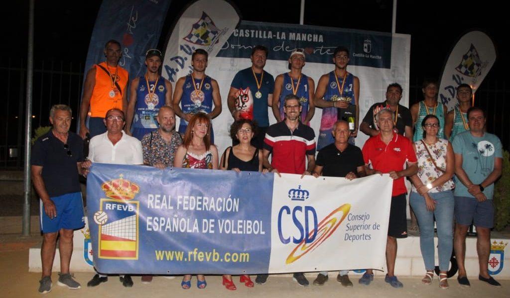 SUBCAMPEONES DE ESPAÑA VOLEY PLAYA