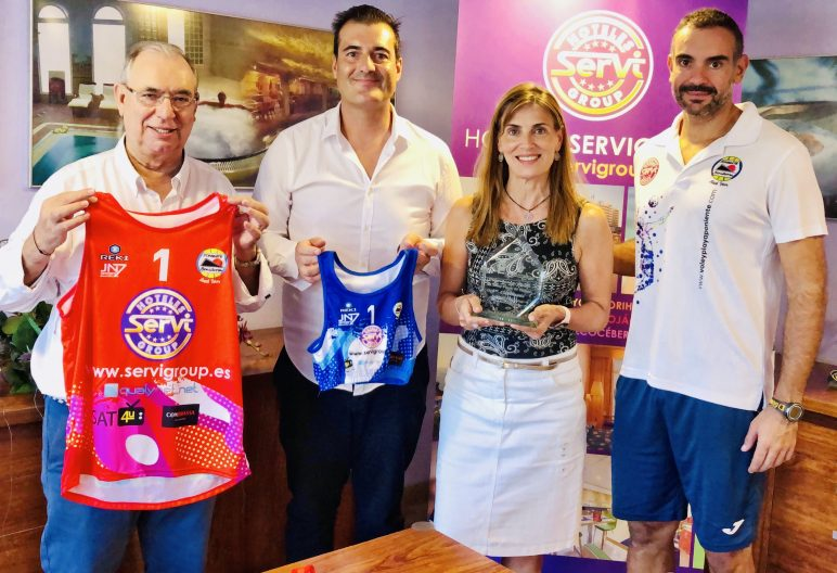 servigroup y club voley playa poniente