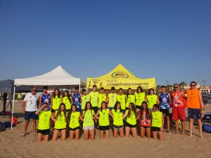 CLUB VOLEY PLAYA PONIENTE CURSOS