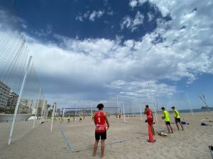 cadete masculino voley playa