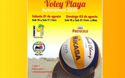 FINAL AUTONOMICA VOLEY PLAYA BENIDORM 2020