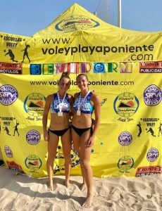 CAMPEONAS AUTONOMICAS SUB 21 VOLEY PLAYA 2020